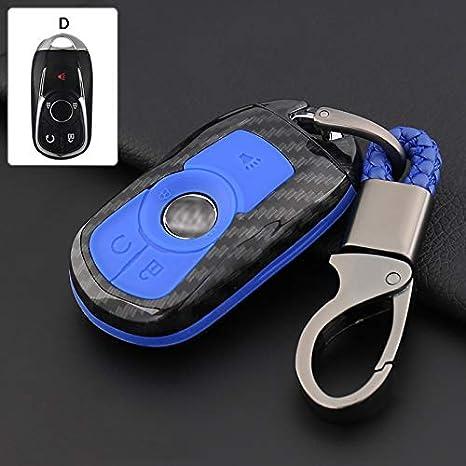 Amazon.com: Ontto Buick - Carcasa de silicona para llaves y ...