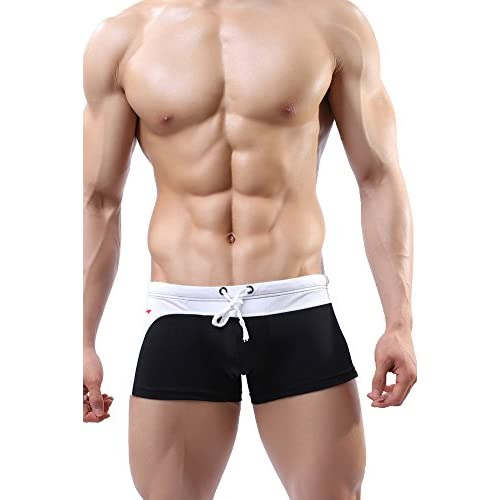 3a5b0da06979 well-wreapped Louis Rouse Men's Swimwear Fashion Comfortable Swim Trunks  Shorts