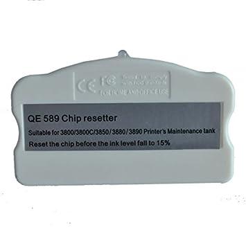 SigntigerGentle Chip Resetter para Epson 3800 / 3800C / 3850/3880 ...