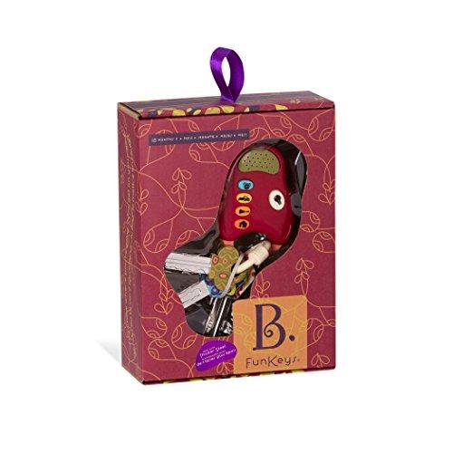41KhjUk8m7L - B. Funkeys Lights & Sounds Toy Keys for Kids