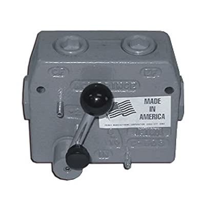 Prince Adjustable Flow Control Valves: Prince No. RD-175-30, 30 Max GPM, 0-30 GPM, 3/4'' NPT Ports, 3000 PSI, None Relief, 222175 from Prince Hydraulics