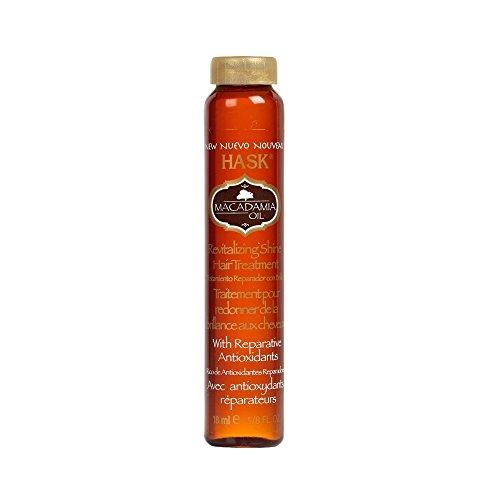 Oil Hair Revitalizing (Hask Macadamia Oil Revitalizing Shine Hair Treatment, .625 Ounces)