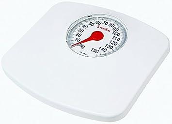 Terraillon Speedo - Báscula de baño, 150 kg, 500 g, color blanco: Amazon.es: Salud y cuidado personal