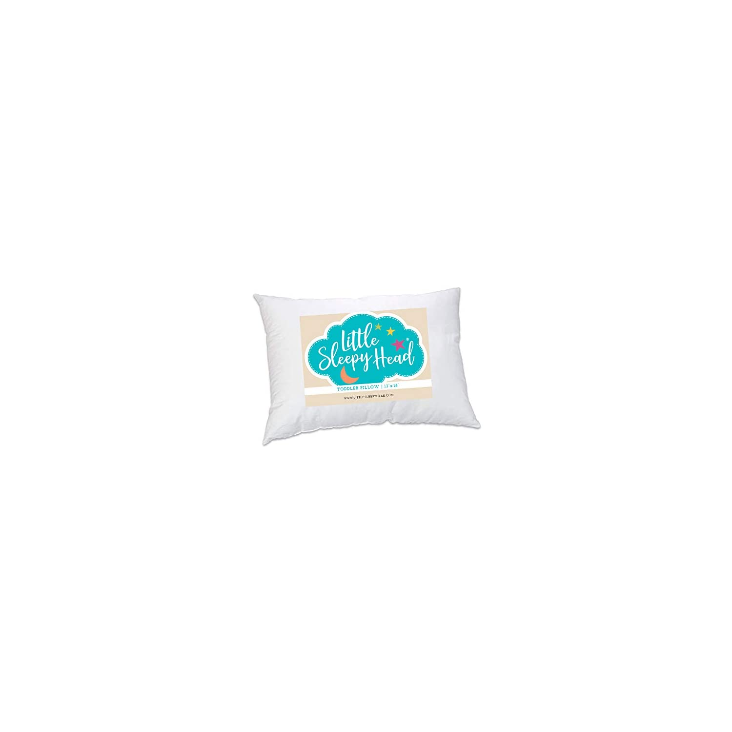 Toddler Pillow – Soft Hypoallergenic – Best Pillows for Kids! Better Neck Support and Sleeping! They Will Take a Better Nap in Bed, a Crib, or Even on the Floor at School! Makes Travel Comfier!