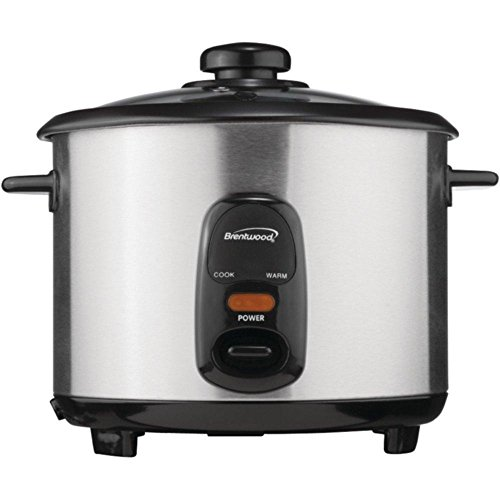 Price comparison product image BRENTWOOD TS-20 Stainless Steel 10-Cup Rice Cooker consumer electronics