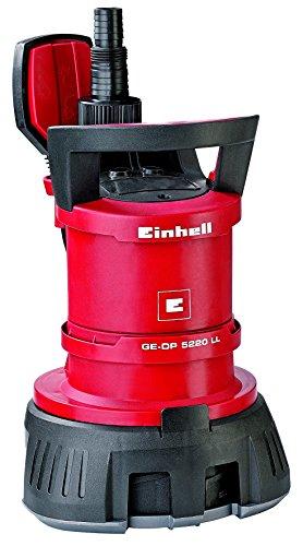 Einhell Schmutzwasserpumpe GE-DP 5220 LL ECO (520 W, 13500 l/h, max. Förderhöhe 7,5 m, Fremdkörper bis 20 mm, Schwimmerschalter)