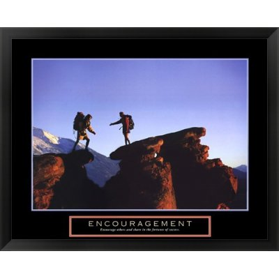 Metaverse Framed Art (MTVR449004AEAAAAGADM - Metaverse Encouragement - Climbers Framed Art)