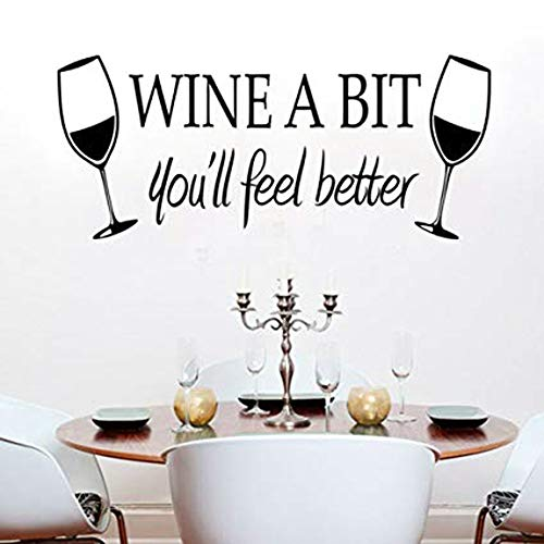 Thing need consider when find wine wall decals for kitchen?