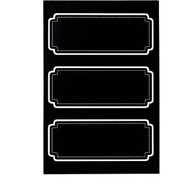 Martha Stewart Chalkboard Labels, 18-pack (51122) ()