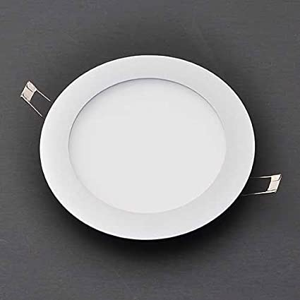Ledwholesalers 6 10w ultra thin edge lit led recessed ceiling light ledwholesalers 6quot 10w ultra thin edge lit led recessed ceiling light with driver white aloadofball Image collections