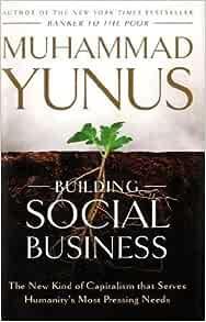 Muhammad yunus social business book