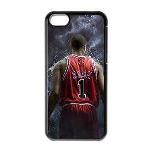 Derrick Rose New Fashion Case for Iphone 5C, Popular Derrick Rose Case