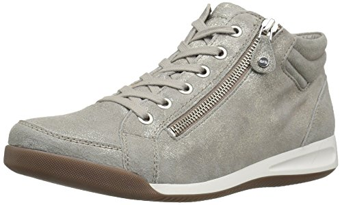 Caruso ara Black Lack M Sneaker Metallic Crinkle Damen 6 Rylee B Chiara US 66wfrqg7
