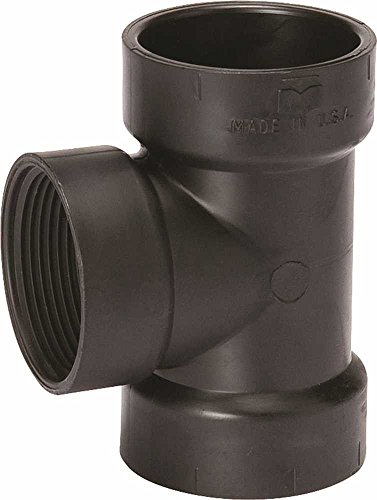 - Nibco 455169 Dwv Abs Test Tee 4 In.