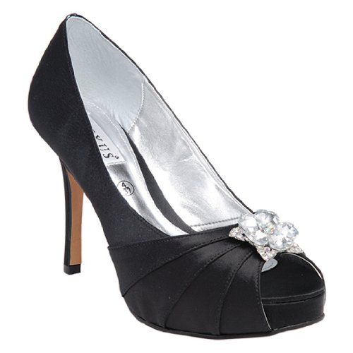 Con Zapatos Tacón Lexus Mujer Negro q7zwfw
