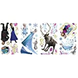 DISNEY FROZEN Movie Wall Decals OLAF ELSA ANNA New 36 Bedroom Sticker Room Décor:New free shipping by WW shop