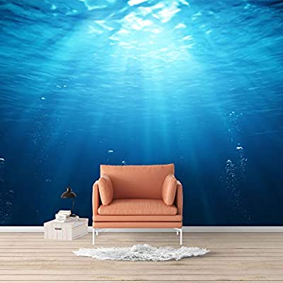 Wall Mural Blue Ocean Deep Sea Removable, Made For You, Dazzling Design