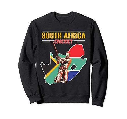 South African Batsman Shirt - South-Africa Cricket Cup Fan Sweatshirt (Best South African Cricketers)