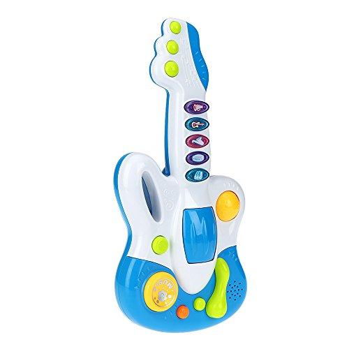 goolsky musique guitare jouet b b avec le clignotant s 39 allume intelligence jouet educatif la. Black Bedroom Furniture Sets. Home Design Ideas