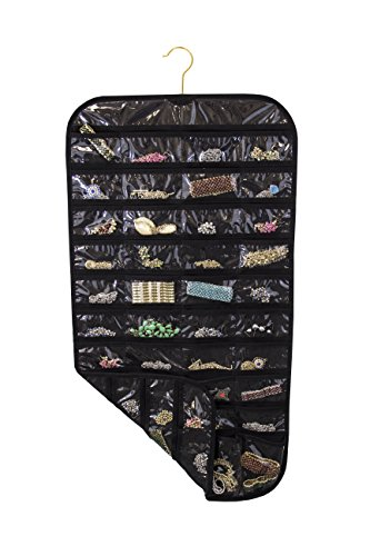 Closet Complete Ultra 80 Pocket Hanging Jewelry Organizer Reviews Bros