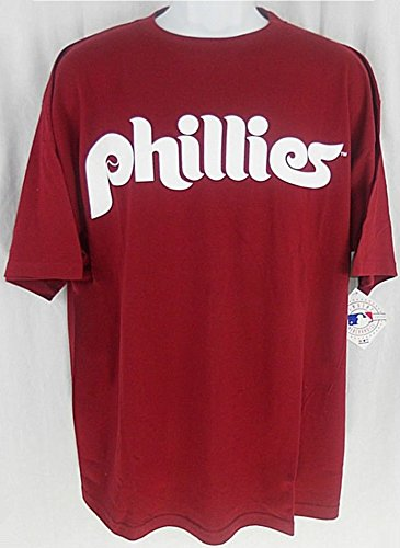 online store 7c718 6bd12 Majestic PHILADELPHIA PHILLIES THROWBACK SHIRT BIG TALL SIZES