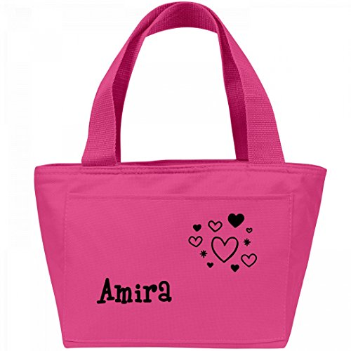 Lunchbox Hearts for Amira: Liberty Bags Recycled Cooler Lunch Box Bag