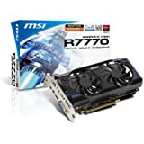 MSI Computer Corp. ATI Radeon HD7770 1020 MHz 1GB DDR5 PCI-Express 3.0 x16 Graphics Cards R7770-2PMD1GD5/OC