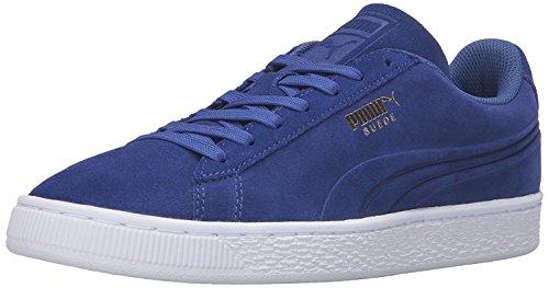 Puma Mens Suede Classic Debossed Q3 Fashion Sneaker, Azul mazarine, 43 D(M) EU/9 D(M) UK