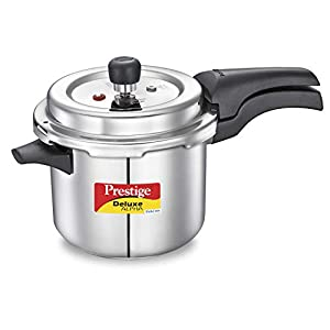 Prestige Svachh Deluxe Alpha 3.5 Litre Stainless Steel Pressure Cooker