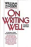 On Writing Well, William K. Zinsser, 0060552727