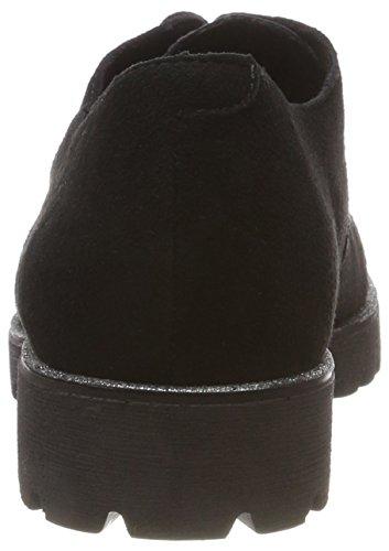 Zapatos Mujer Cordones Para graphit D0119 schwarz 02 Oxford De Remonte Negro schwarz 5xqnYFwnC