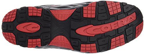 Cofra Scarpe Antinfortunistiche New Predator Black S3 Lavoro Volante Scarpe Da Lavoro Large 42, Nero, Jv007-000
