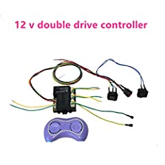 This line can be modified dual drive,.You can choose to buy according to the voltage of your model and the number of motors, if you do not know the choice, please contact meThe product does not contain  remote  battery   This set of lines is ...