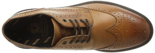 Base London Woburn - Zapatos de Cordones de cuero hombre Brown - Tan