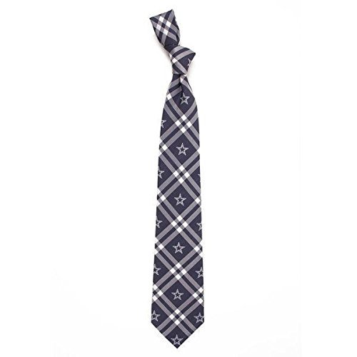 Necktie Accessories - NFL Dallas Cowboys Men's Woven Polyester Rhodes Necktie, One Size, Multicolor