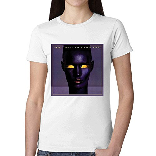 Grace Jones Bulletproof Heart Women T Shirts - Texas Macys Houston