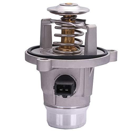 ROADFAR Engine Coolant Thermostat 902-817 11537586885 Fit for 2002 2003 2004 2005 BMW 745i 745Li,2006 2007 2008 2009 2010 BMW 650i 750i 750Li Thermostat Housing Assembly