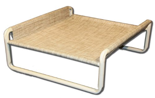 Rover Company Elevated Dog Bed, 24 by 30-Inch, Birch Forest