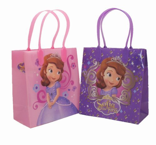 12pc Disney Sofia the First Goodie Bags Party Favor Bags Gift Bags]()