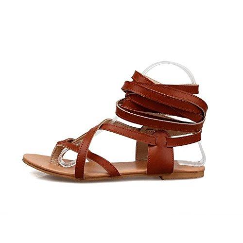 BFMEI Romani Cinturini Donna da bianco Sandali Incrociati Sandali con Cinturini con rO6xnrp