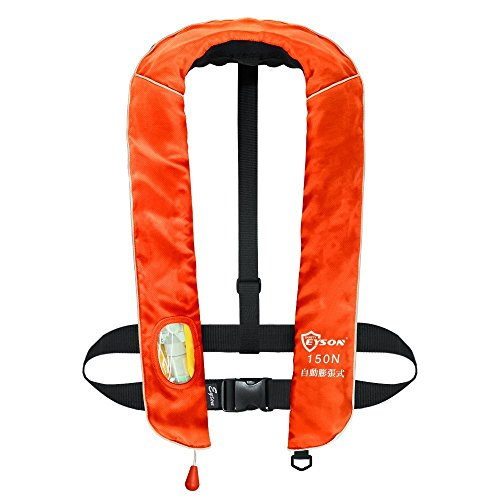Eyson 구명 조끼 자동 팽창 식 풍선 낚시 목 건 베스트 타입 구명 조끼 CE 인증 / eyson life jacket automatic inflatable inflatable fishing neck best type life jacket CE certified