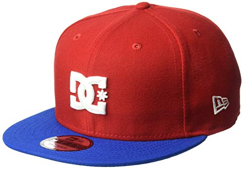 DC Men's Empire Fielder Trucker HAT, Racing red ()