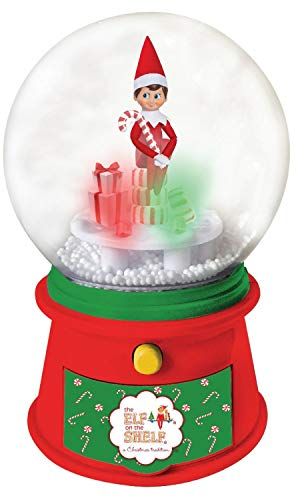 Elf on the Shelf Musical Candy Snow Globe