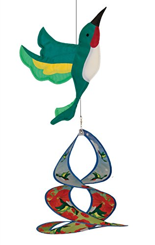 Outdoor Appliqued Windsock (In the Breeze Hummingbird Theme Duet)
