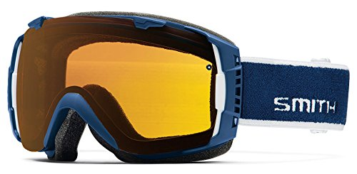 Io Lens (Smith IO Interchangeable Goggles with Bonus Lens Navy Archive/Yellow/Extra Ignitor, One Size)