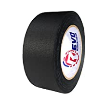 "REVO Premium Professional Gaffers Tape (2"" x 30 yards) MADE IN USA (BLACK GAFFERS) Non Reflective Tape- Camera Tape- Better than Duct Tape (Black, Gray, Green, Red, White, Yellow)"