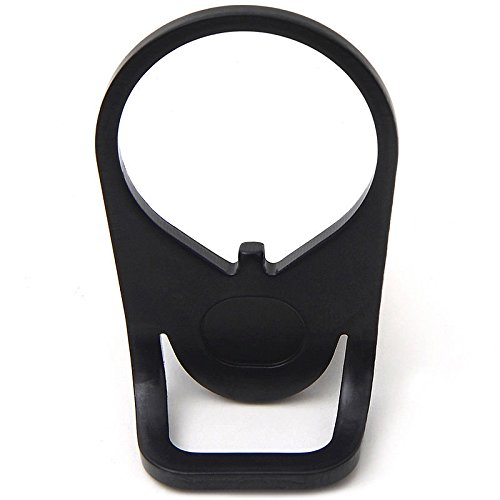AR15 End Plate Sling Mount Sports Ambidextrous Dual-Round Loop Adapter Best Gun End Plate