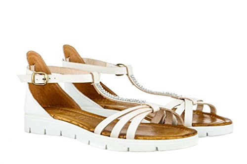 Sandalen Sandaletten aus Leder Schuhe Damen RIPA shoes - 09-09062