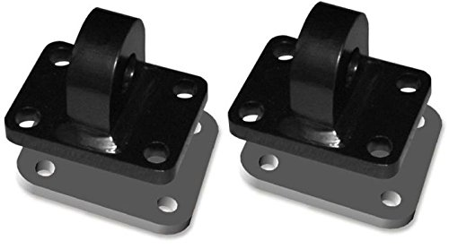 - BILLET4X4 XD 3 TON Bumper Shackle MOUNTS - MACHINED (Pair) with Backing Plates