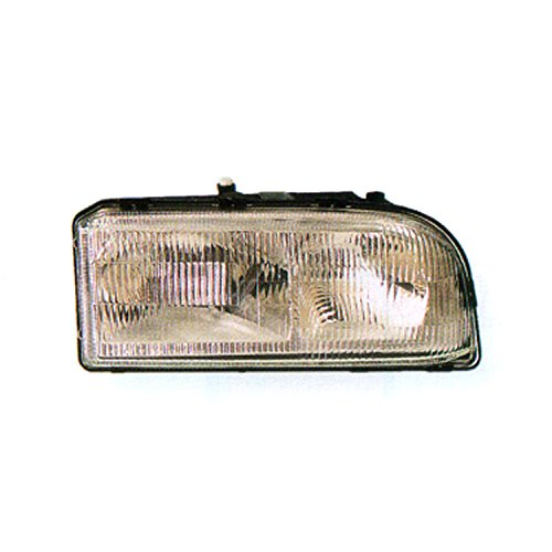 CPP VO2503101 Right Headlamp Assembly Composite for 93-97 Volvo 850